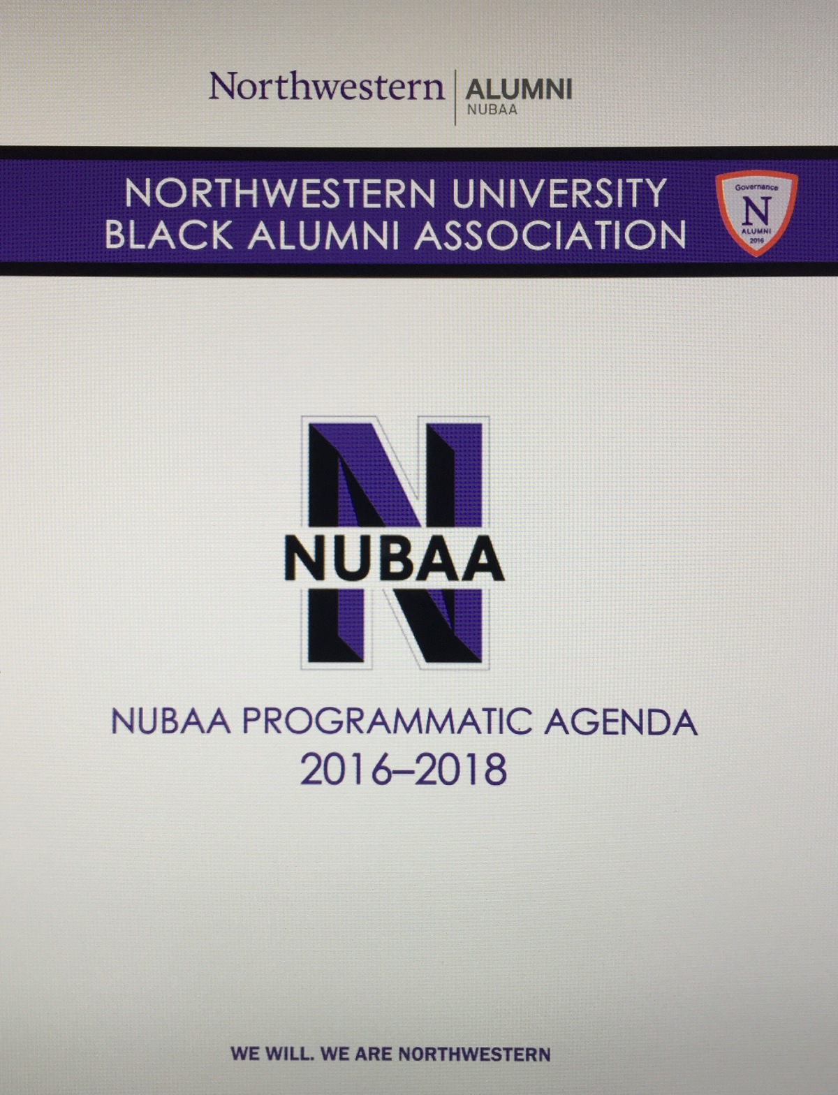 Schedule for NUBAA Succession Planning Conference Calls