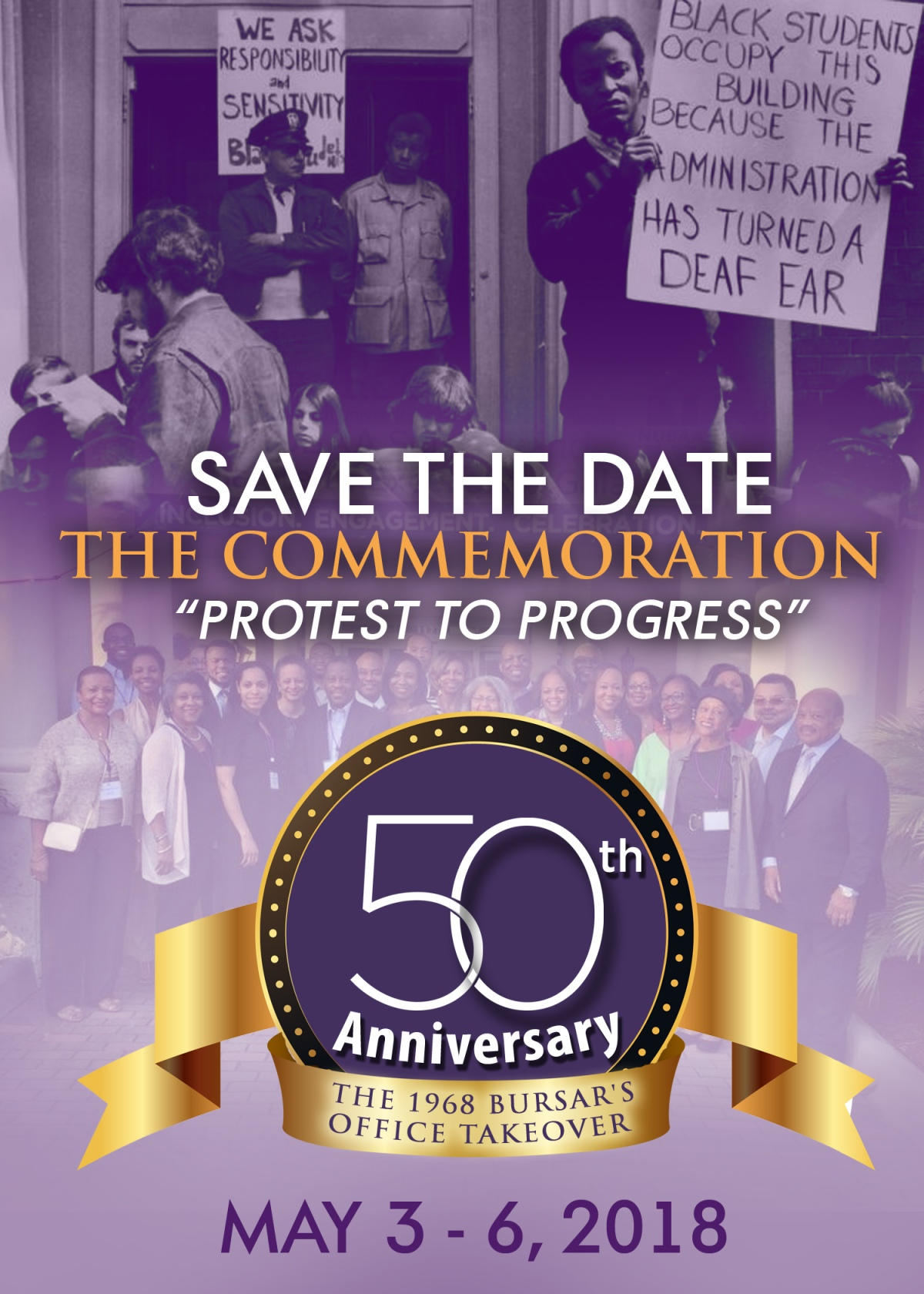 We're Thirty Days from the NUBAA 50th Anniversary Bursar's Office Takeover Commemoration Week: Join Us!