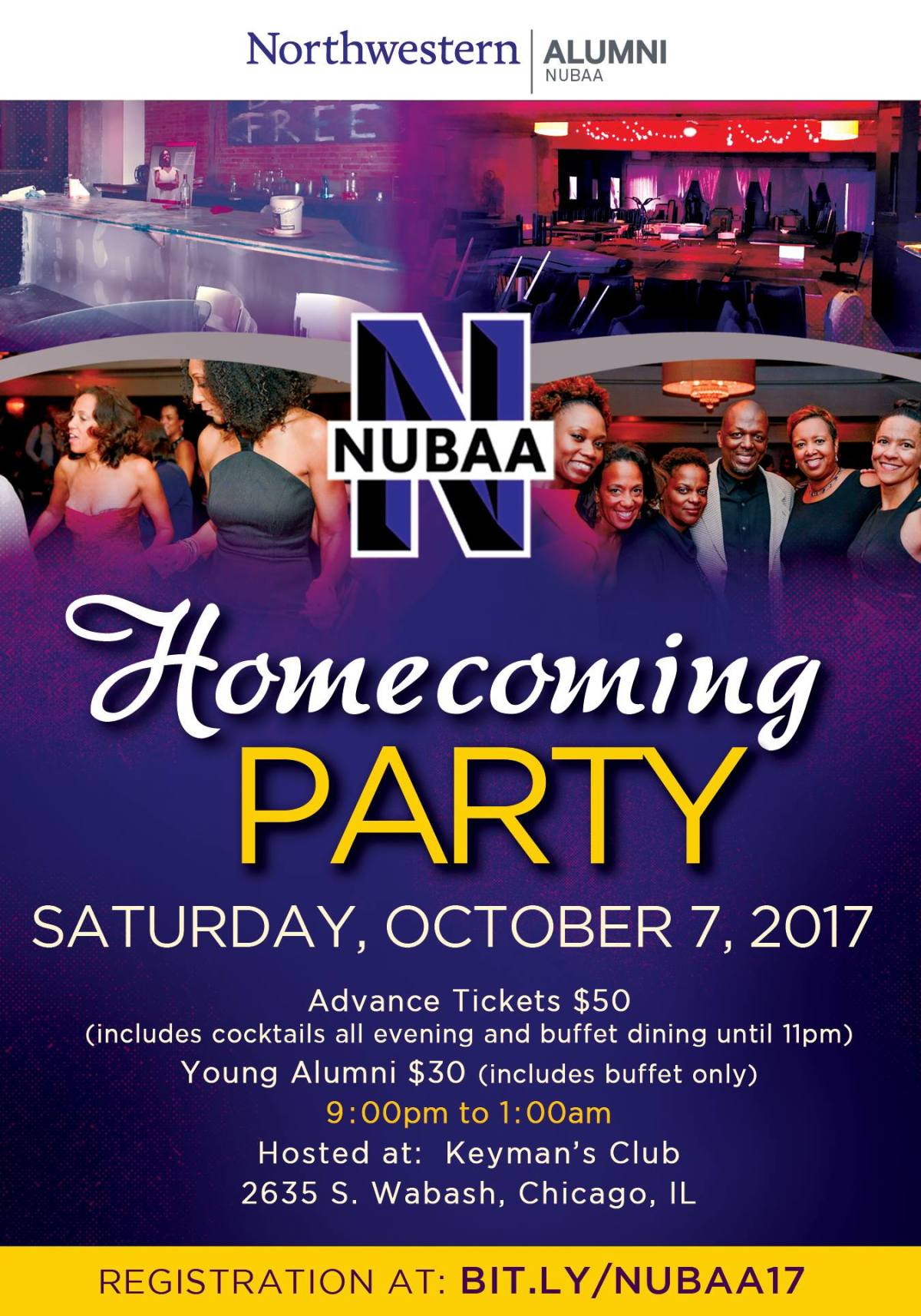 Telling It Like It Was: NUBAA Destination Homecoming (DH)